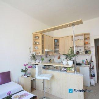 Prodej bytu 1+1, 56m2, cihla, 2min od metra Palmovka