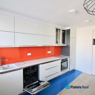 Pronájem bytu 3+kk/L, 67m², Rajmonova - Praha 8