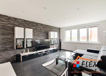 Pronájem moderního zařízeného bytu 3+1, 81 m² - Ostrava - Poruba