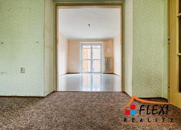 Prodej bytu 2+1 v os.vl. v cihlovém domě,  48,5 m2 ul. Puškinova, Frýdek-Místek