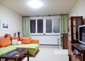 Pronájem částečně zařízeného bytu 3+1, 76 m2, lodžie, ul. Pod Morávií, Kopřivnice