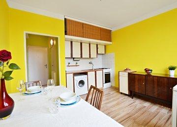 Pronájem zařízeného družstevního bytu 1+1 na ul. Kašparova, Karviná Hranice