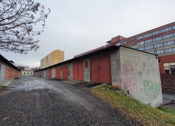 Pronájem garáže 21m² na ul. Zborovská