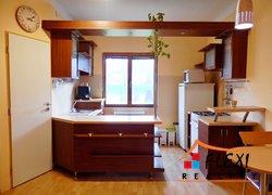 Pronájem zařízeného bytu 1+1, 45 m2, se zahradou a parkováním před domem, ul. Jaroslava Haška, Frýdek-Místek