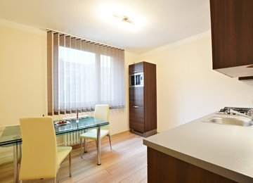 Pronájem bytu 1+1 v os.vl. s lodžií, 40.59 m² už.plochy, ul. Josefa Brabce, Ostrava