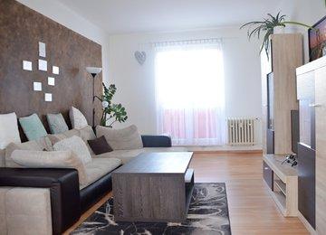 Pronájem hezkého bytu 2+1, 53m² na ul. Ciolkovského v Karviné - Ráji
