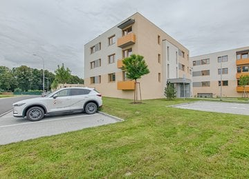 Pronájem novostavby bytu 2+kk, 53 m2, terasa, zahrádka, garážové stání, ul. Nové Dvory - Podhůří, Frýdek-Místek, Rezidence Na Podhůří