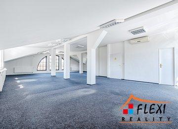 Pronájem prostorné kanceláře se startovací podporou slevy na nájmu, 147 m², Slezská Ostrava, ul. Hradní