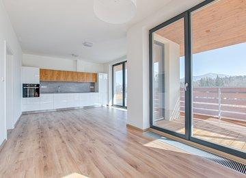 Pronájem bytu s terasou 2+kk, 51 m² Čeladná