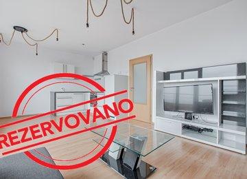 Pronájem moderního vybaveného bytu 1+KK v novostavbě Atrium ve Slezské Ostravě
