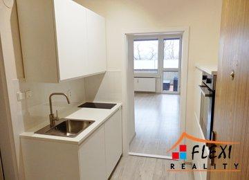 Pronájem částečně zařízeného bytu 1+0, terasa, 28,4 m², ul. Hasičská, Frýdek-Místek