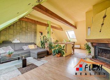 Prodej podkrovního mezonetu 3+kk, 71 m², os. vl., ul. Stanislava Kostky Neumanna, Frýdek-Místek
