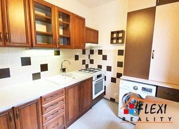 Pronájem částečně zařízeného bytu 2+1 s lodžií, 51,34 m², ul. Gagarinova, Frýdek-Místek