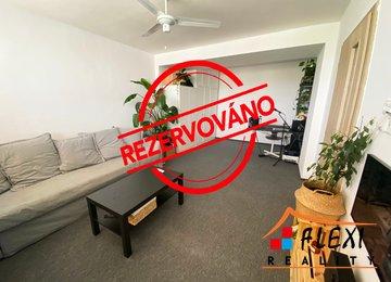 REZERVOVÁNO - Pronájem prostorného bytu 1+1 s lodžií, 48m2, Moravská Ostrava a Přívoz, ul. Hrušovská