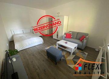REZERVOVÁNO - Podnájem zařízeného bytu 1+1 v dr.vl., 44m2, Moravská Ostrava, ul. Garážní