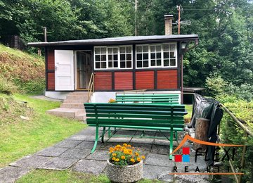 Celoroční pronájem vybavené chaty, 3+1, 51 m² s terasou - Komorní Lhotka