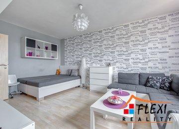 Pronájem zařízeného bytu 1+1, 40m² ul. Dr. Martínka, Ostrava - Hrabůvka