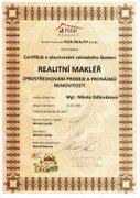 Certifikát 2