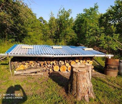 Zahrada_uskladnění dřeva