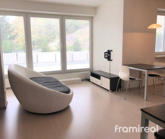 Pronájem bytu 1+kk s velkou terasou, 55m², Brno - Komín