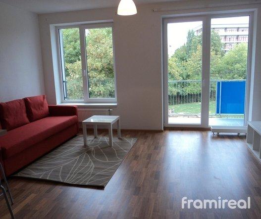 Pronájem bytu 1+kk, 46m² - Brno - Zábrdovice