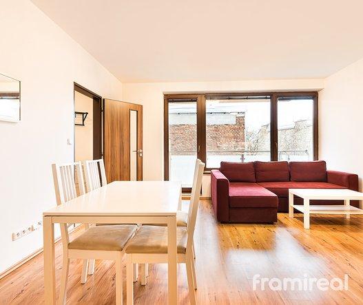 Pronájem bytu 2+kk, 51m² - Brno, ul. Anenská