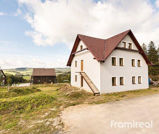 Prodej apartmánů - Jeseníky - Horní Václavov
