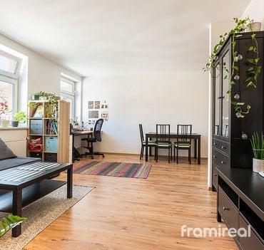 Pronájem bytu 2+kk, 55m² - Brno, ul. Anenská