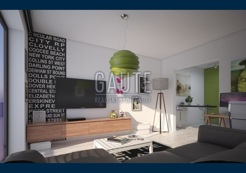 byt - varianta A - obyvaci pokoj 1