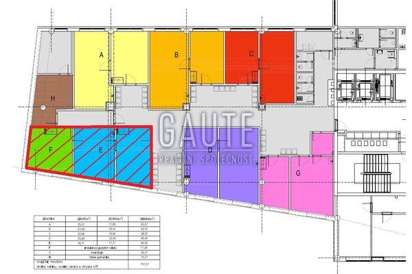 Pronájem, Obchodní prostory, 54m²