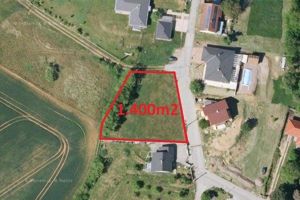 Prodej, Pozemky pro bydlení, 1400m²