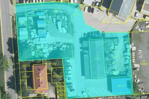 Prodej, Pozemky pro komerci, 4445m²