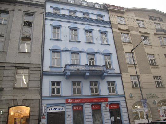 Administrativní budova, Praha 1, Senovážné nám. 870/27