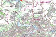 mapa klecany
