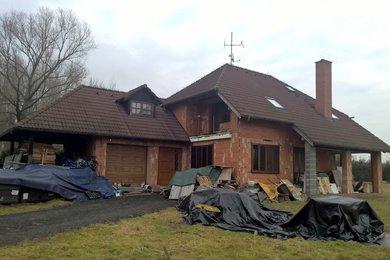 Rodinný dům 192 m2 (rozestavěný)  s  poz. 1852 m2 - Horní Libchava, okres Česká Lípa, Ev.č.: CSDD5517G