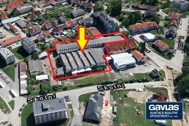 Výrobní a skladovací areál  na pozemcích o rozloze 4.286 m2 - Kaplice, okres Český Krumlov, Ev.č.: CSDD10716G