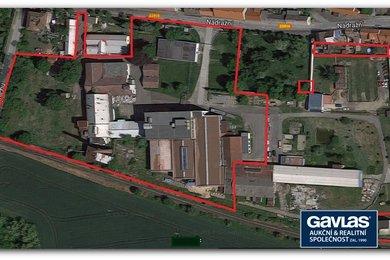 Výrobní a skladovací areál na pozemcích  o velikosti 20.613 m 2 - Zlonice, Ev.č.: CSDD3417G