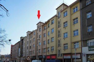 Byt 2 + kk (56 m2) se sklepní kójí, Praha 5 – Košíře, Vrchlického 482/49, Ev.č.: P5248218G