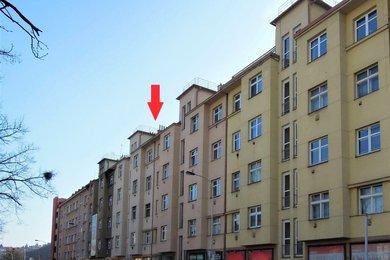 Byt  2 + kk (42 m2) se sklepní kójí, Praha 5 – Košíře, Vrchlického 483/47, Ev.č.: P5248316G
