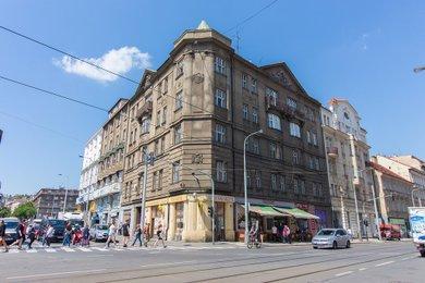 Byt 1+1 (44,8 m²) se sklepní kójí, Praha 5 – Smíchov, Ostrovského 33/2, Ev.č.: P563301G