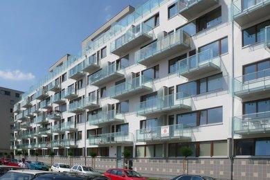 Pronájem 1+kk, balkon, garáž, komora, 34 m², Praha 7 - U Měšťanského pivovaru, Ev.č.: 223398