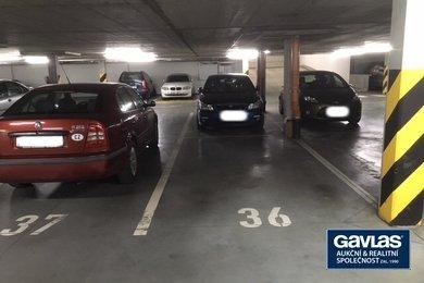 Pronájem garážového stání, Praha 10 - Bohdalec, Elektrárenská, Ev.č.: 223405