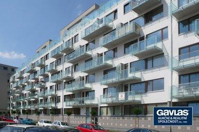 Pronájem 1+kk, balkon, garáž, komora, 34 m², Praha 7 - U Měšťanského pivovaru, Ev.č.: 223406