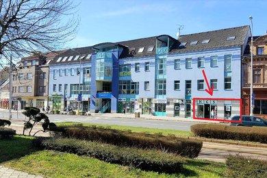 pronájem obchodních prostor 101 m2 v centru Litvínova, Ev.č.: 254288
