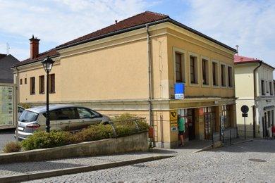 Prodej části domu s pobočkou České spořitelny a.s., Brušperk, Kostelní 48, Ev.č.: O-CS1908-1