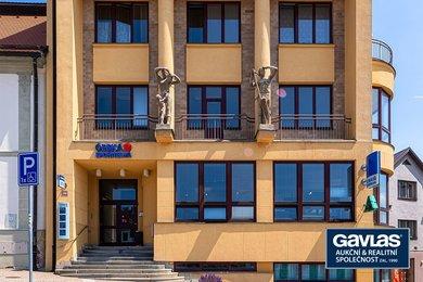 Prodej pronajaté komerční budovy s pobočkou České spořitelny,  1163 m², Bystřice nad Pernštejnem, Ev.č.: CS1905c