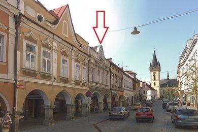 Barokní měšťanský dům v historickém centru Dvora Králové nad Labem, Ev.č.: CSDD819G