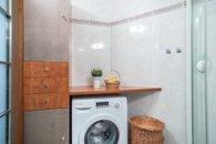 Koupelny v 1. NP s pračkou