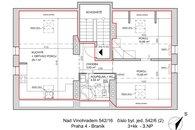 Dispozice - Nad Vinohradem 16 (b.j. 6-2)