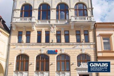 Prodej pronajaté komerční budovy s pobočkou České spořitelny, 1430m² - Ústí nad Orlicí, Ev.č.: CS1910
